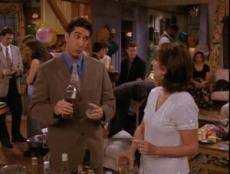 Friends 02x22 : The One With The Two Parties- Seriesaddict